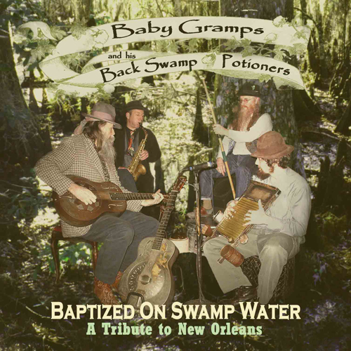 Cover - Baptized On Swamp Water